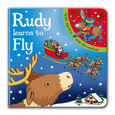 Book cover for Rudy Learns to Fly